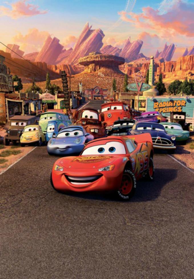 Pilotos de F1 aparecen en Cars. Michael Schumacher sale en la película personificando a un Ferrari F-430, ademas se puede ver que lo acompañan 02 Maserati Quatroporte. Mientras que Fernando Alonso prestó su voz a 001 de los personajes. Foto: Pixar/Cars Facebook