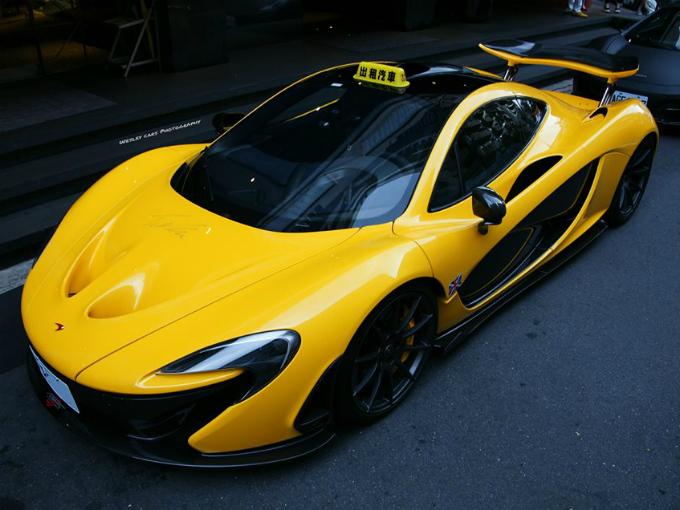 Cars For Uber >> McLaren P1 taxi de ensueño en Taiwan | Atracción360