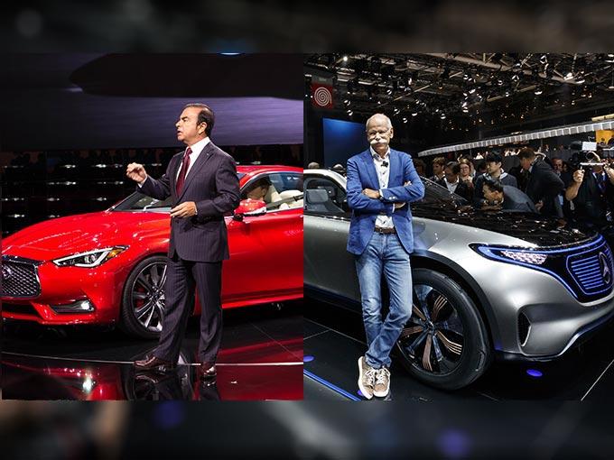 La Alianza Renault Nissan y Daimler presumen ser el duo dinámico