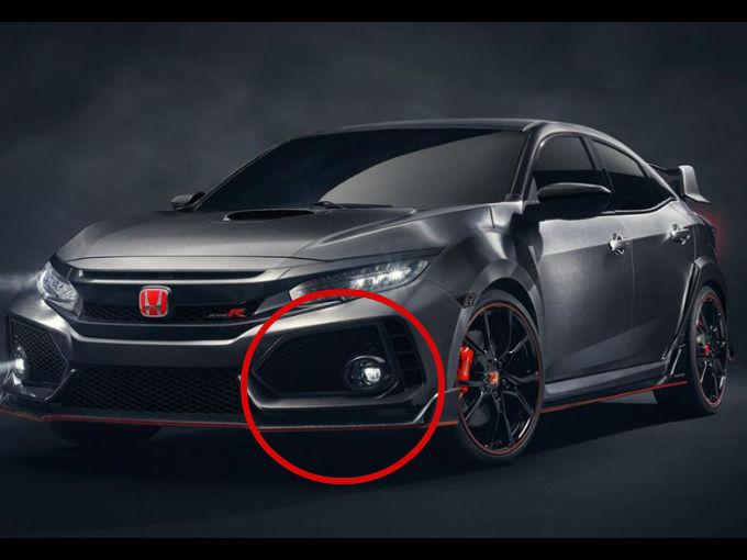 Los detalles del impresionante Honda Civic Type R 2017