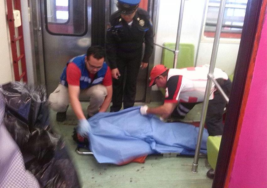 Muere de un golpe tras asomarse por la ventana del Metro