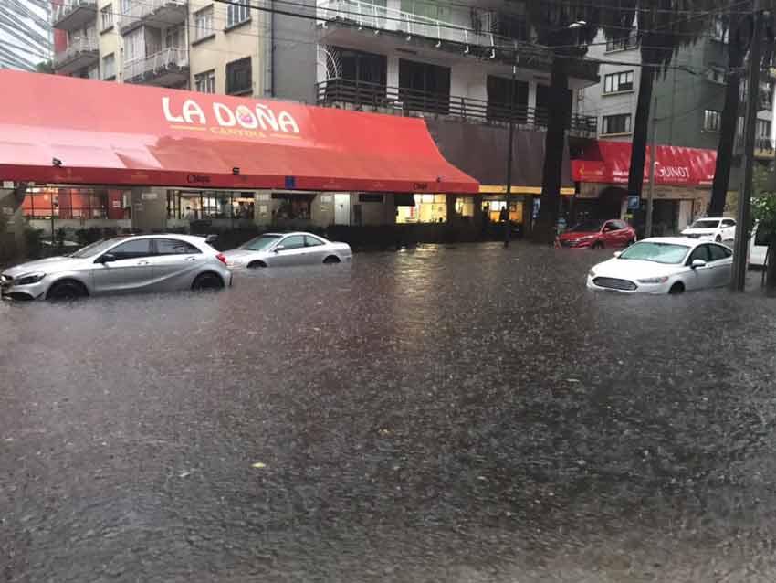 Mazarik esquina con Horario. / Foto: Twitter (@vialhermes)