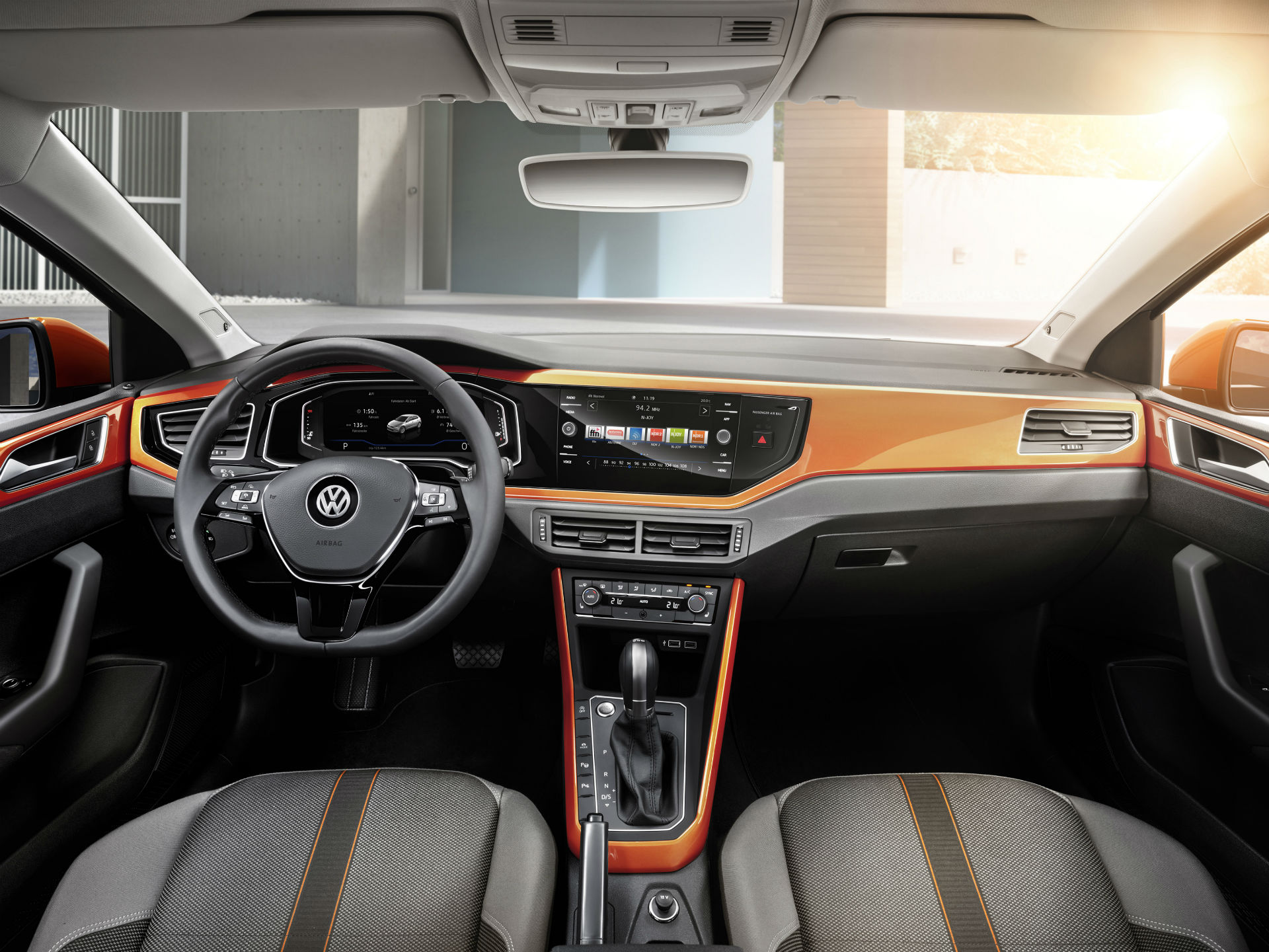 Esta nueva generación, contará ademas con conectividad acorde a las inéditas tendencias; incorporará Android Auto y Apple CarPlay. Fotografía Volkswagen