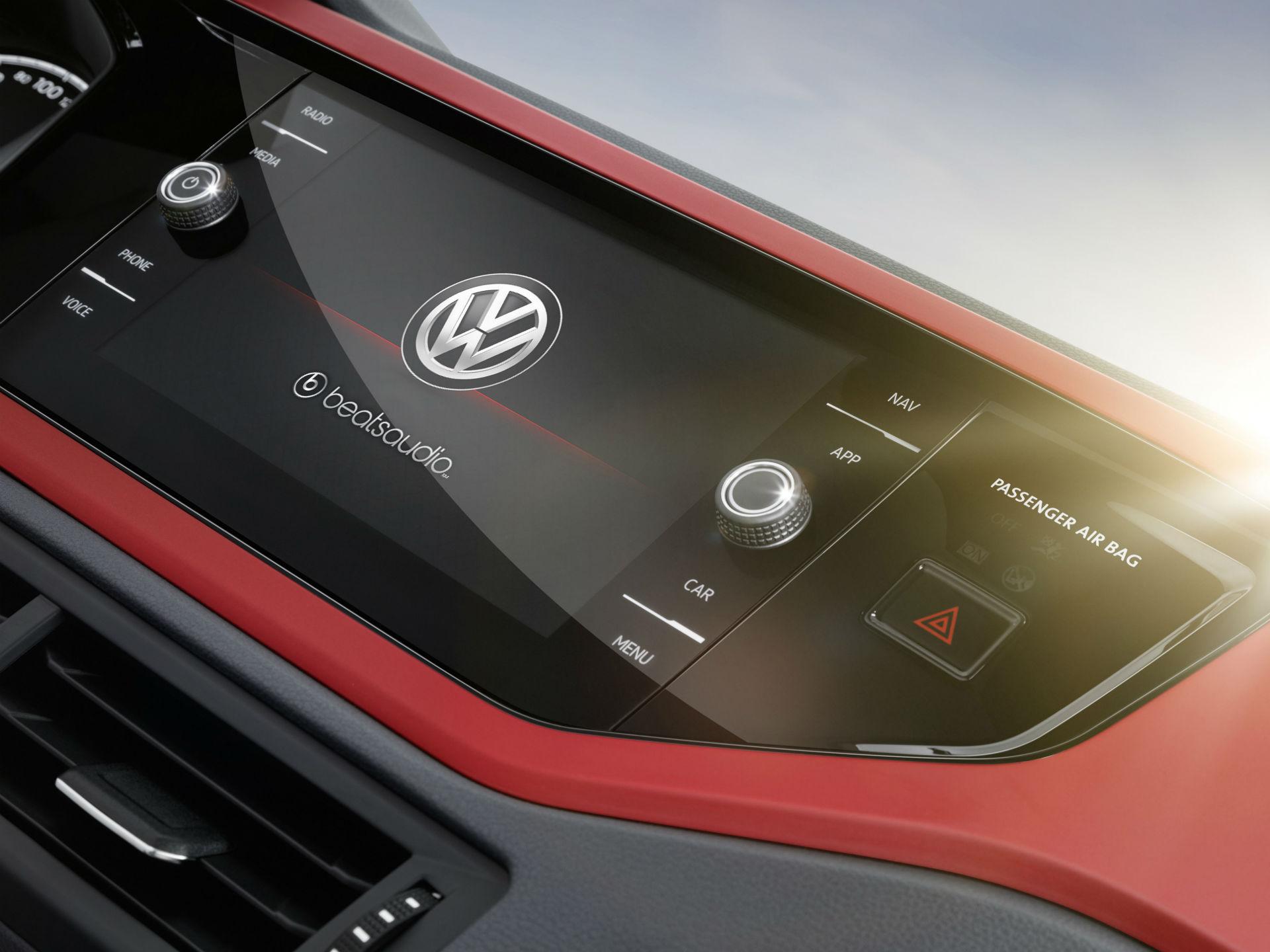 La edicion singular Beats, tendrá propios tanto en interiores cual exteriores, ademas del sistema de audio de trescientos watts. Foto: Volkswagen