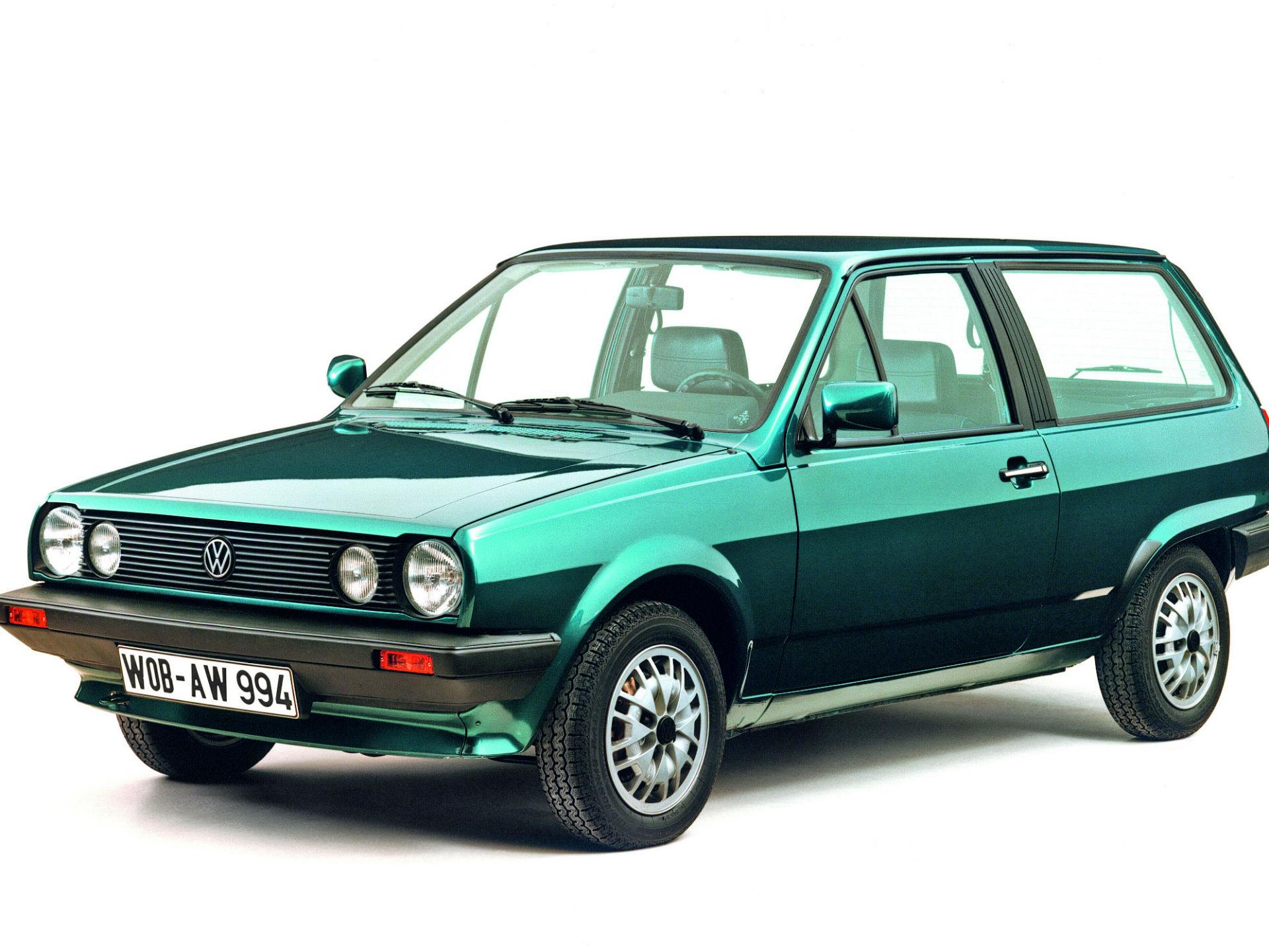 """Llegado en 1981, la segunda generación llegó cual versión """"state"""". Uno de sus fuertes era el gran espacio interior. Un año más tarde, conocimos el lado deportivo con el Polo GT. Foto: Volkswagen"""