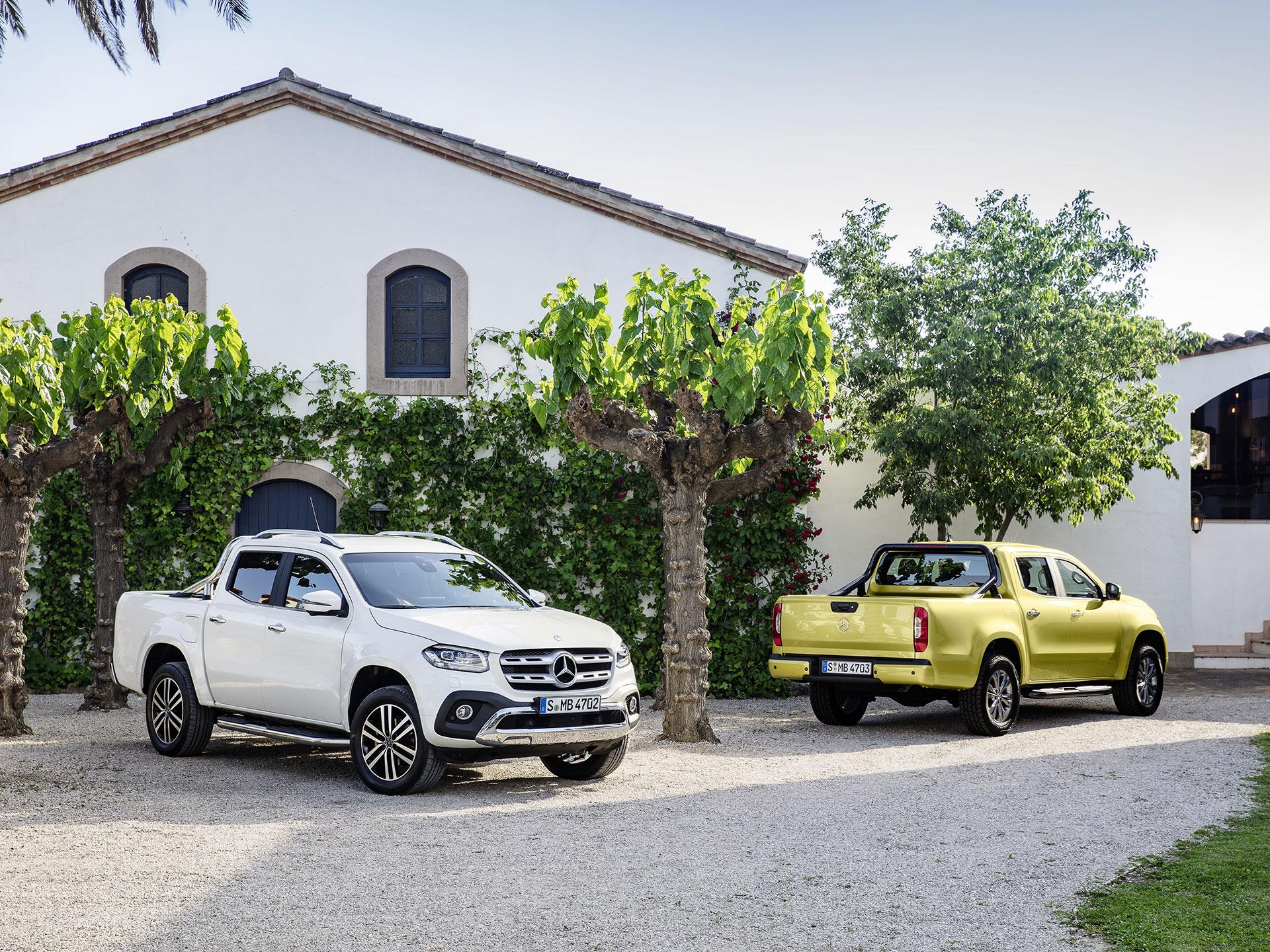 Fuera del cambio de parrilla, ésta pick up es idéntica a la camioneta japonesa, de la como toma su plataforma. Foto: Mercedes-Benz