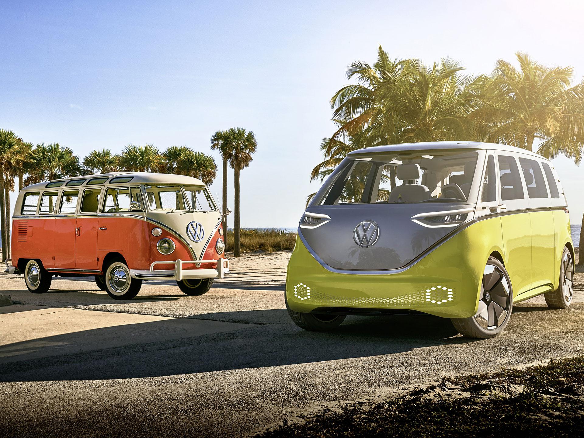 Volkswagen anunció que volverá a fabricar la Combi, ahora basado en su concept ID Buzz. Foto: Volkswagen