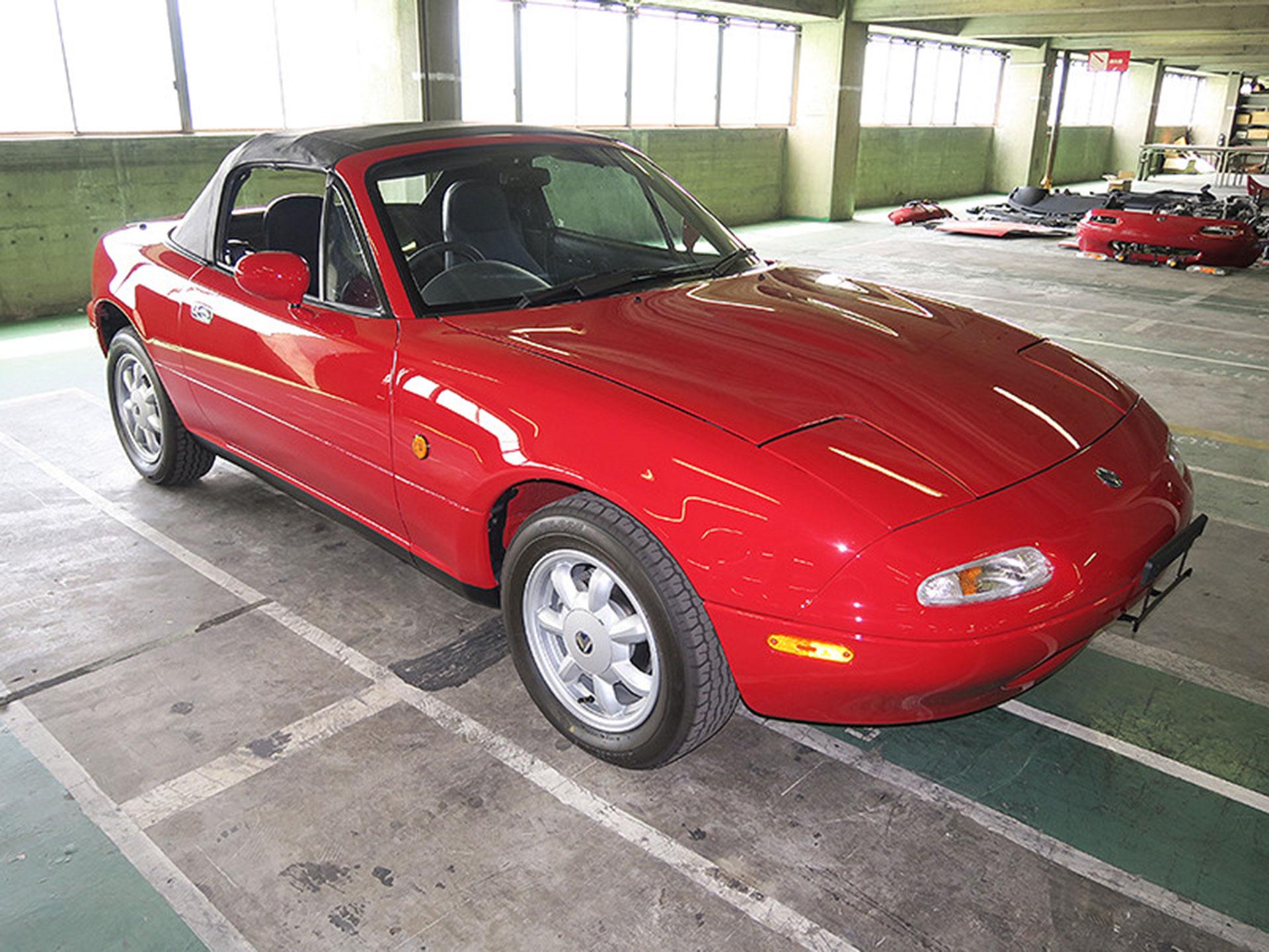 El taller empezará a percibir solicitudes de restauración en Japón y las pondrá en funciona hasta 2018. Foto: Mazda