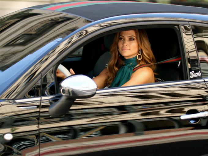 Jennifer Lopez Elautoquemaneja Car Celebrity Fiat