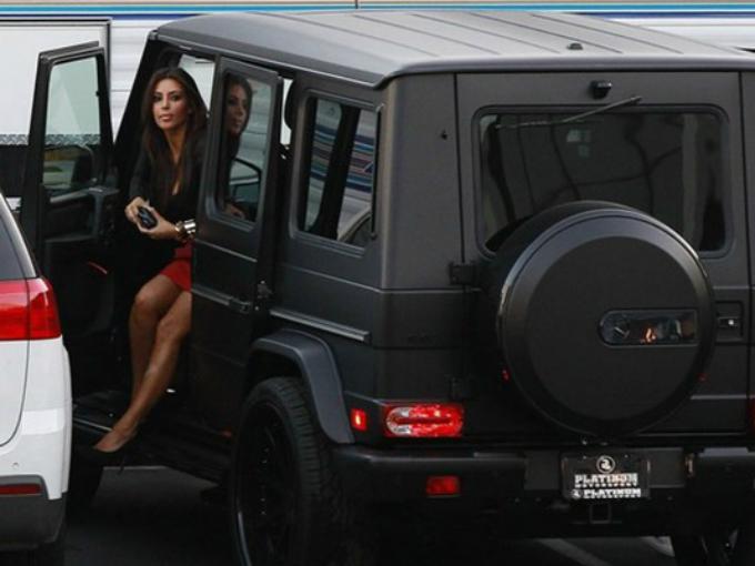 Mercedes Benz Van >> Los autos de Kim Kardashian | Atracción360