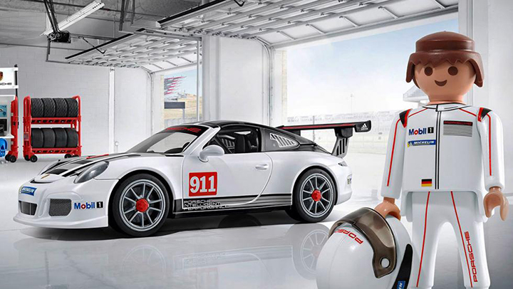 porsche 911 gt3 cup playmobil deportivo atraccion360. Black Bedroom Furniture Sets. Home Design Ideas