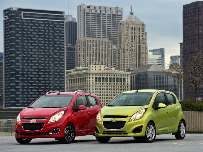 El subcompacto de Chevrolet el Spark, se colocó durante el primer trimestre del año en la séptima posición con siete mil 926 autos, es decir, 3.2 por ciento de participación en el mercado. Foto: GM