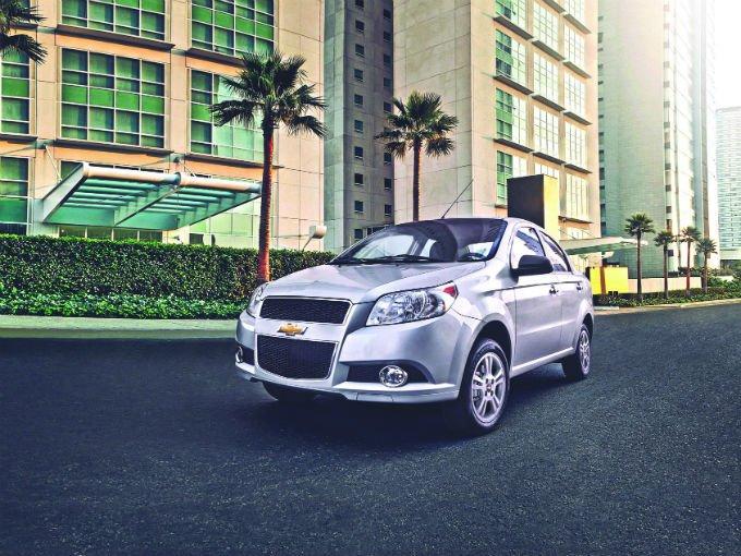 El líder en las ventas fue el Aveo de General Motors, que colocó de enero a marzo 15 mil 60 unidades para adjudicarse 6.1 por ciento de la participación en el mercado. Foto: GM