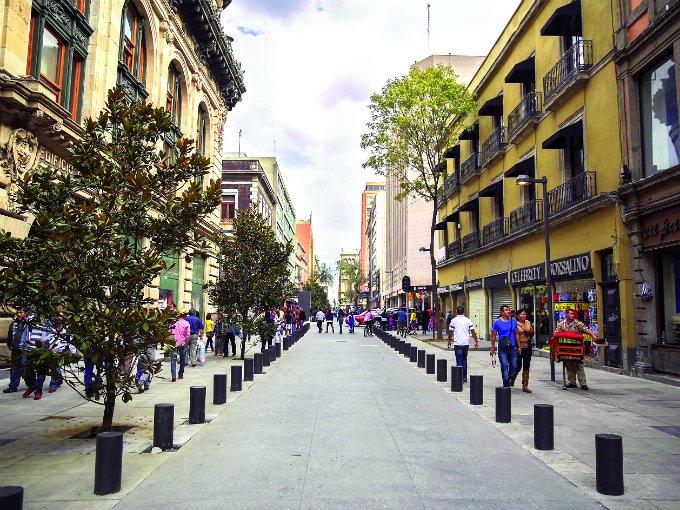 Calles semipeatonales distrito federal atraccion360 for Sanborns centro historico df