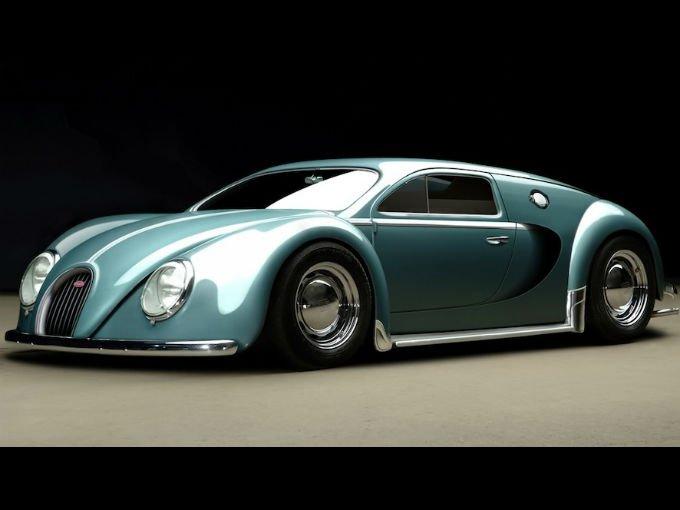 bugatti veyron beetle edition render e historia atraccion360. Black Bedroom Furniture Sets. Home Design Ideas