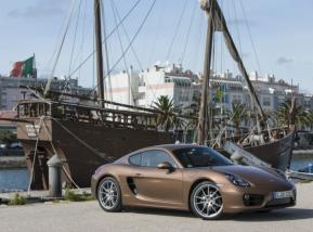 Porsche Cayman es un adorador de la velocidad