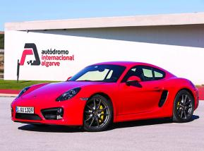Porsche Cayman S, más pasión al rojo vivo