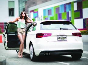 Audi A3 tiene líneas seductoras