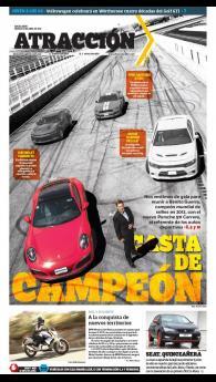 Suplemento Atracción 30 de abril de 2016. Porsche 911 Carrera S