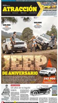 Suplemento Atracción 4 de junio de 2016. Jeep 74 Aniversario