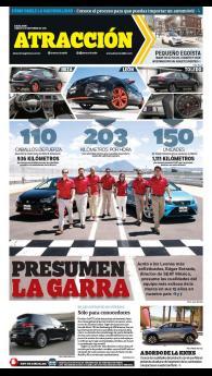 Suplemento Atracción 17 de septiembre de 2016. SEAT León 15 Aniversario, León Cupra