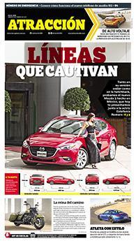 Suplemento Atracción 11 de febrero de 2017. Mazda 3 sedán y hatchback