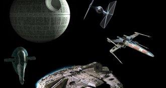Tienes que ver las naves más sorprendentes de Star Wars