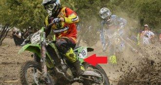 Secretos en las botas que usan los pilotos de motocross