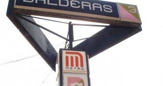 ¿Por qué el logotipo del Metro Balderas es un cañón?