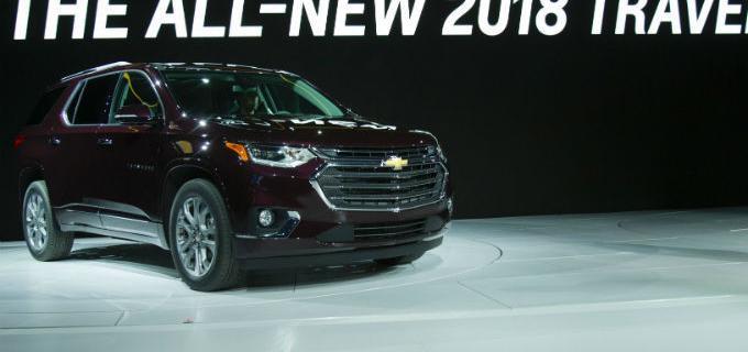 General Motors fabricará la Terrain en México y luce la nueva Traverse en Detroit