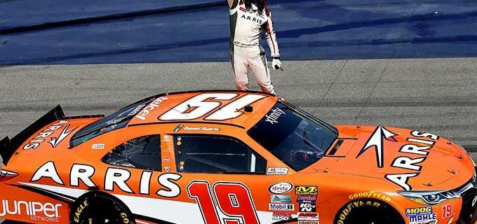 Daniel Suárez competirá en la categoría estelar de NASCAR