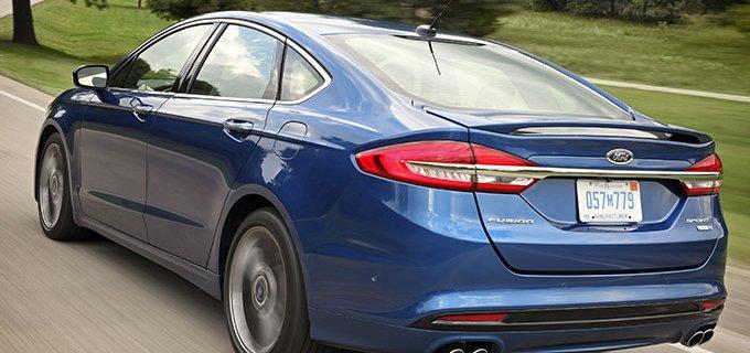 Todo lo que debes saber acerca de la edición especial de Ford Fusion Sport