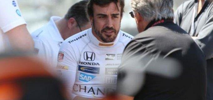 Alonso debuta oficialmente en el óvalo de Indianápolis