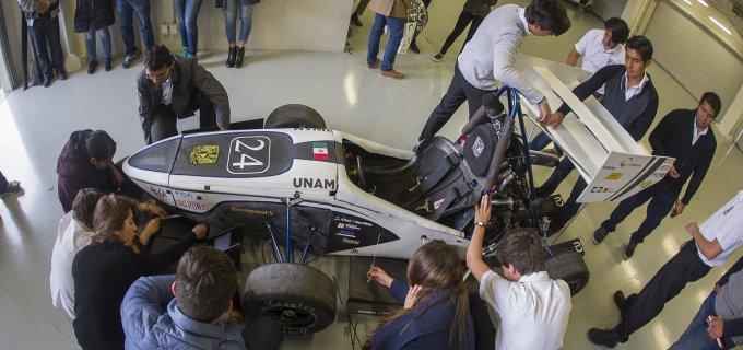 Los alumnos de la UNAM te explican el coche con el que compiten en Europa