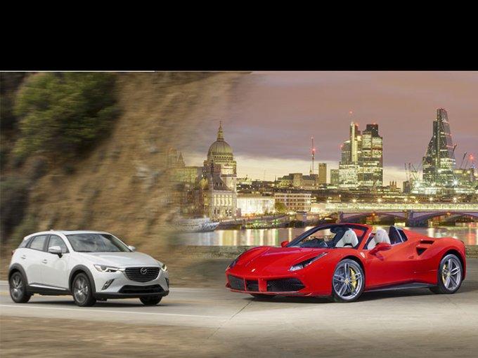 Dos autos se enfrentaron a un duelo a muerte. ¿Quién ganará?