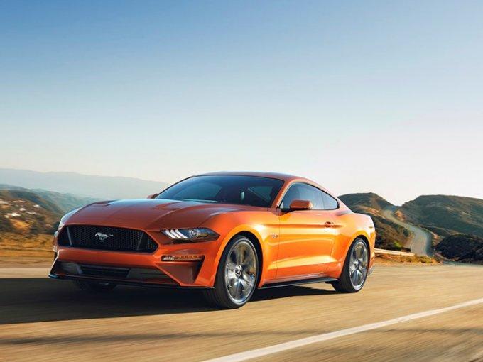 Con esta actualización, Ford búsqueda asombrar a los amantes de los muscle cars. Foto: Ford