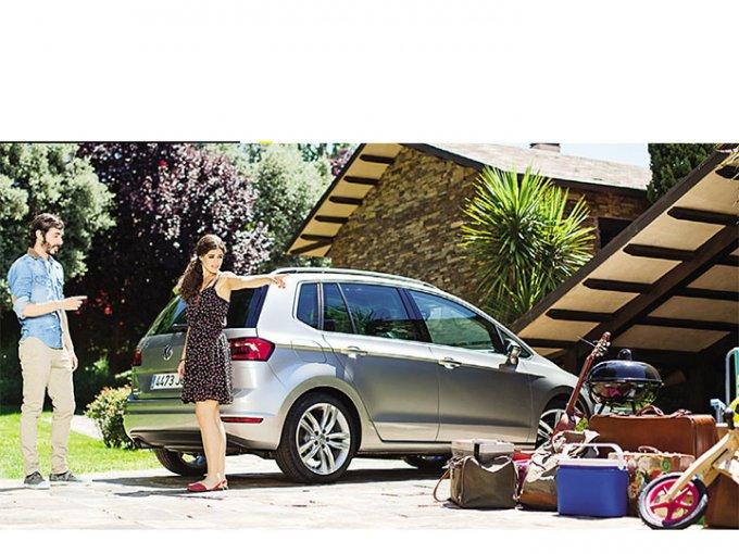 Si el peso no se distribuye uniformemente, el auto puede perder estabilidad. Foto: Volkswagen