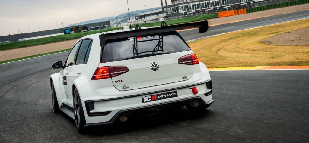 Este es el Golf GTI TCR para el Campeonato de Turismo Europeo