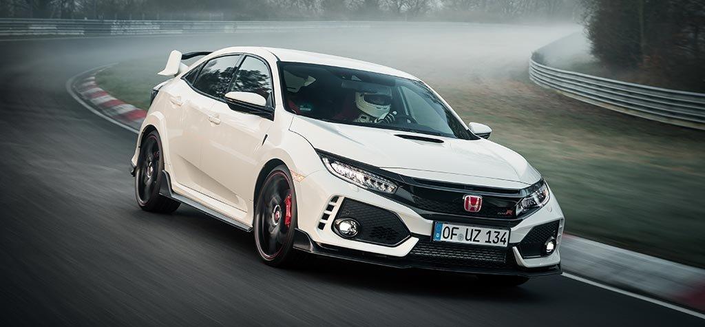 Honda reclama su título en el Nürburgring con el Civic Type R