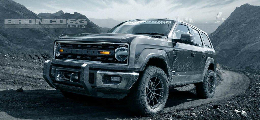 La NUEVA Ford Bronco tendría un V6 de 325 hp